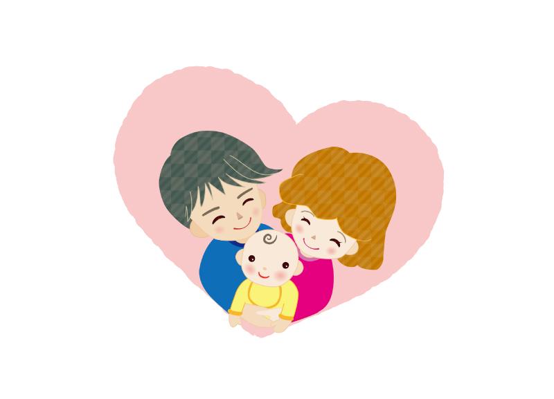 赤ちゃんと男女