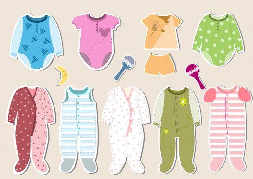 幼児の衣類