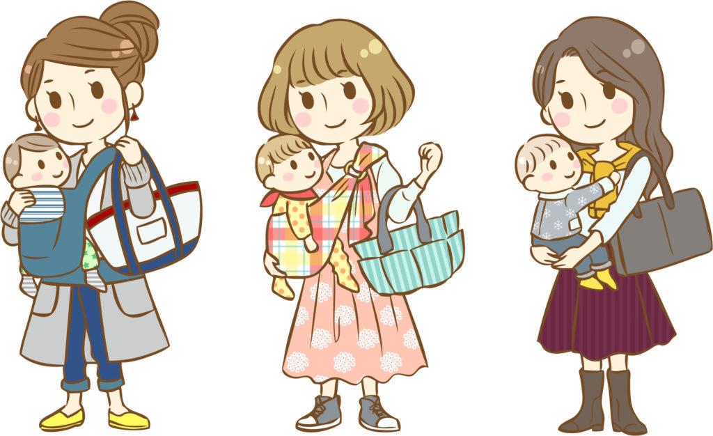 3人の母たち