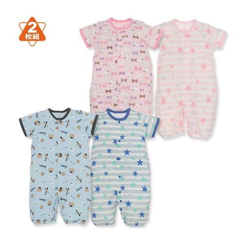 赤ちゃんの夏服2種