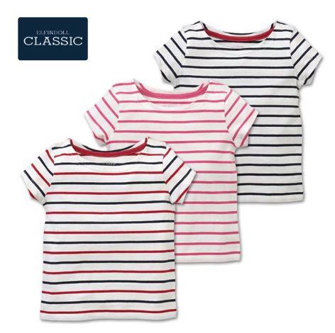 赤ちゃん用のストライプ柄の服
