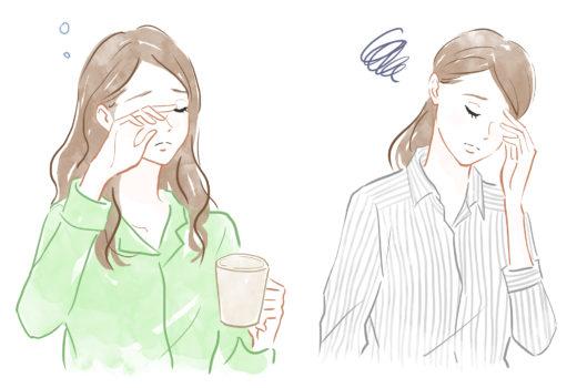 疲れている女性たち