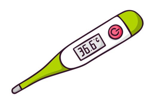頭 で 測る 体温計