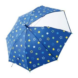 【ELFINDOLL】 ジャンプ傘(星柄)
