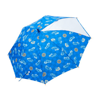 【ELFINDOLL】 ジャンプ傘(くるま柄)
