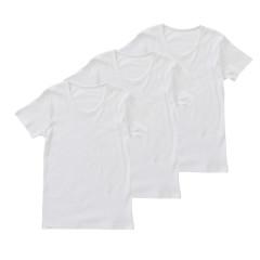 スクール 男児 3枚組 半袖シャツ