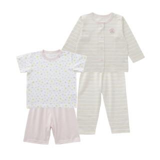 2枚組 パジャマ(半袖+長袖)