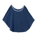 【ELFINDOLL】 巾着袋付 ポンチョ型 授乳ケープ