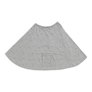 【ELFINDOLL】 ポケット付き 授乳ケープ