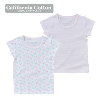 ELFINDOLL ベビー女児 2枚組 半袖シャツ