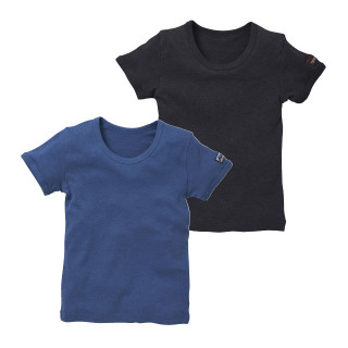 男児2枚組半袖シャツ