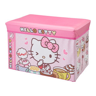 【SmartAngel】 座れるおもちゃ箱 ハローキティ