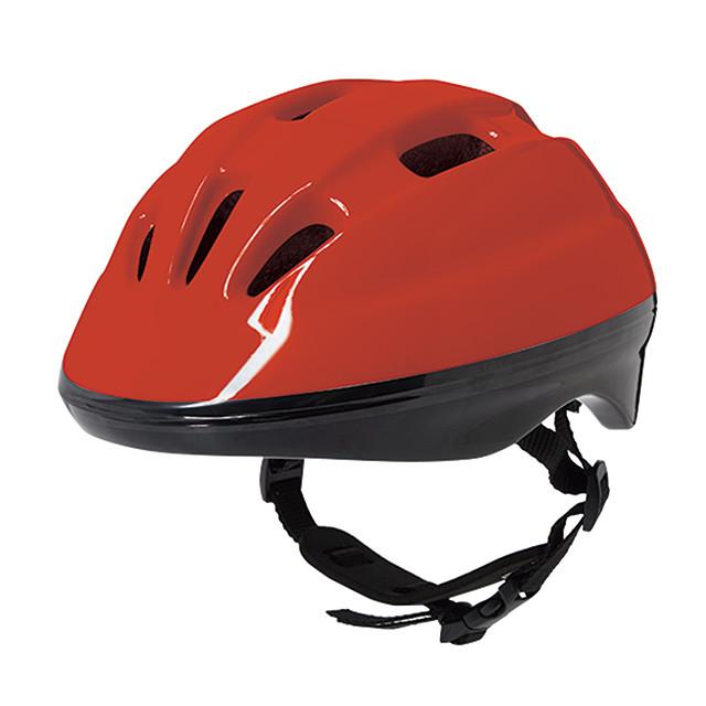 子供用ヘルメット レッド