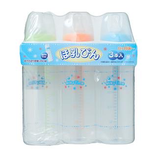 ミルキータイム 哺乳瓶3本セット