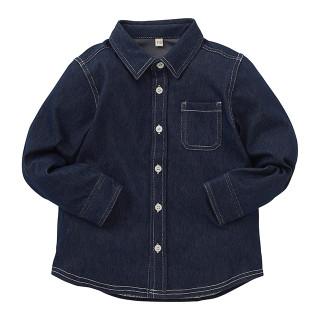 【ELFINDOLL】 ニットデニムシャツ