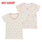 HOTWRAP 女児 2枚組 半袖シャツ