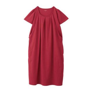 【ELFINDOLL】 綿100% 半袖ワンピース