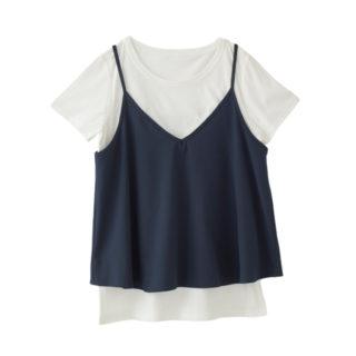キャミ&Tシャツ