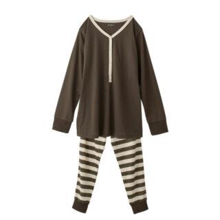 【ELFINDOLL】 ヘンリーネックパジャマ