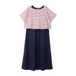 【ELFINDOLL】 ボーダーTシャツ&ワンピース
