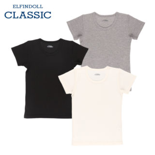 【ELFINDOLL】 男児 3枚組 半袖シャツ