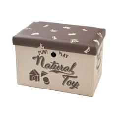 座れるおもちゃ箱 サファリパーク