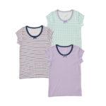 女児 3枚組 半袖シャツ