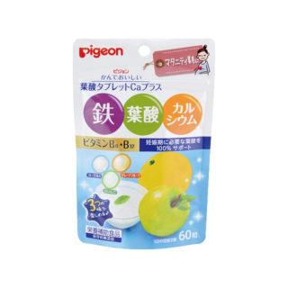 ピジョン 葉酸タブレットCAプラス(ヨーグルト・青りんご・グレープフルーツ) 60粒