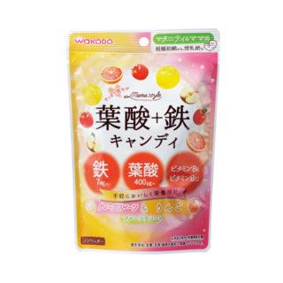 W葉酸キャンディ(グレープフルーツ・りんご)