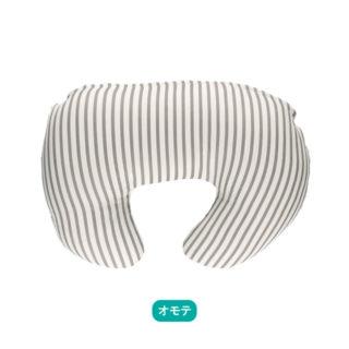 【ELFINDOLL】 Wガーゼ授乳クッション(ストライプ・ドット)