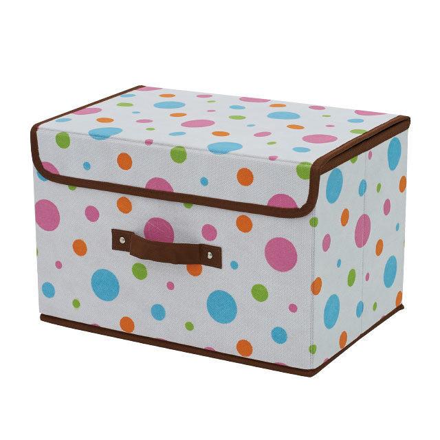 ファンシー収納ボックス カラードット