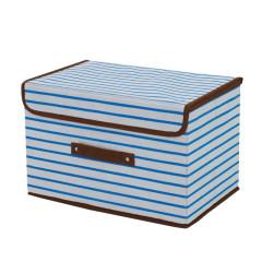 ファンシー収納ボックス マリンボーダー