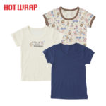 HOTWRAP 男児 3枚組 半袖シャツ