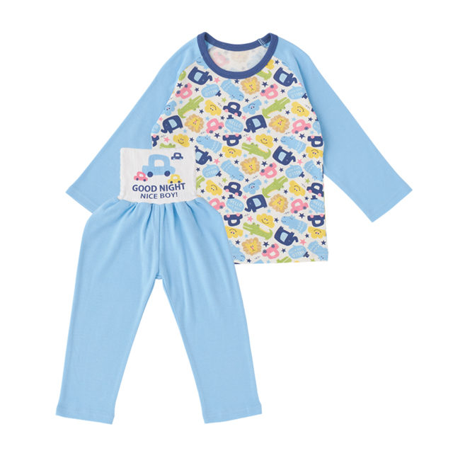 腹巻付 長袖パジャマ