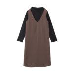 【ELFINDOLL】 重ね着風ジャンバースカート