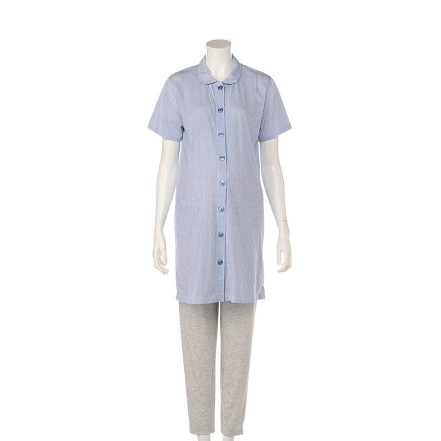 半袖 襟付き 天竺パジャマ
