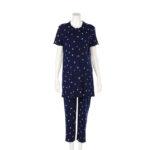 【ELFINDOLL】 半袖 ストレッチプリントパジャマ