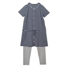 半袖 ストリングパジャマ