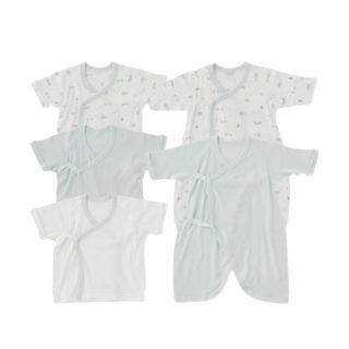 【ELFINDOLL】 新生児肌着5点セット