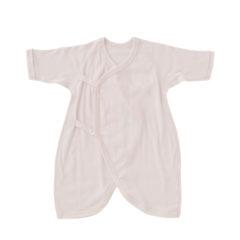 新生児肌着5点セット(短肌着3枚、コンビ肌着2枚)