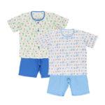 2枚組 パジャマ(半袖 2SET)