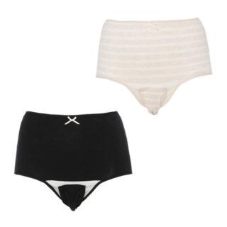 【ELFINDOLL】 2枚組 綿100% 産褥ショーツ