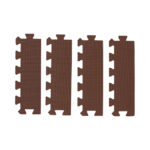 【SmartAngel】   ブラウン色の抗菌外枠 直線部用 4枚入