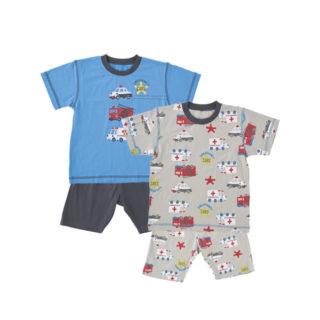 2枚組 半袖 パジャマ
