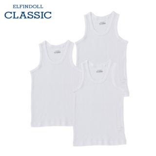 【ELFINDOLL CLASSIC】 男児 3枚組 ランニング