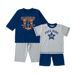【ELFINDOLL】 2枚組 パジャマ(7分袖+半袖)