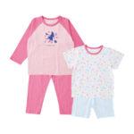 【ELFINDOLL】 2枚組 パジャマ(長袖+半袖)