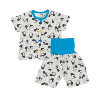 腹巻付半袖パジャマ