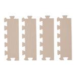 【SmartAngel】   カフェラテ色の抗菌外枠 直線部用 4枚入