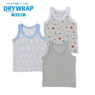 DRYWRAP 3枚組 ベビー ランニング
